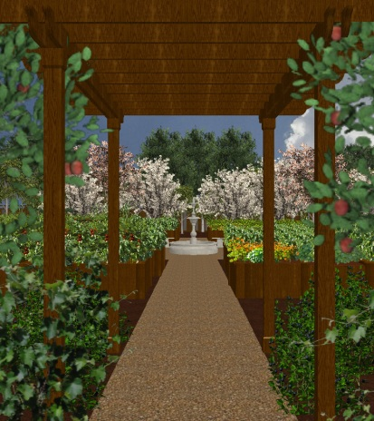 West Valley College Community Garden, Renderings