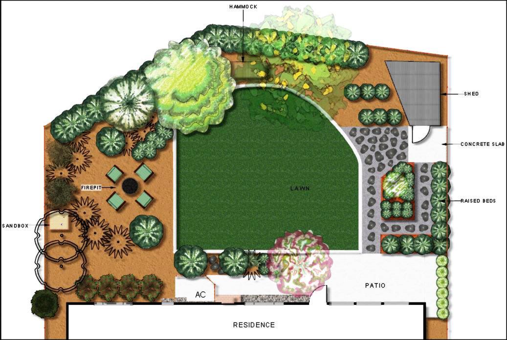 Sac town vegetable garden la peluso designs for Plan my vegetable garden
