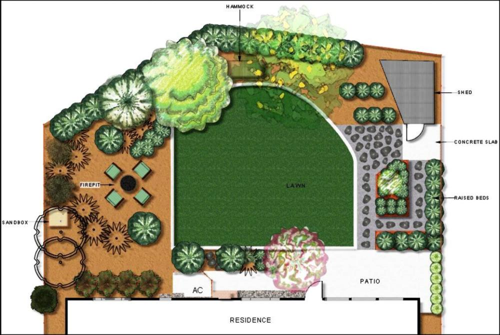 Concept plan view